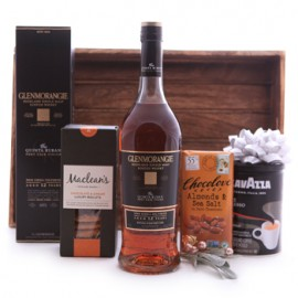 Glenmorangie Whisky Coffee and Sweets Assortment