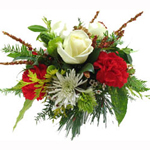 Holiday Sonata bouquet
